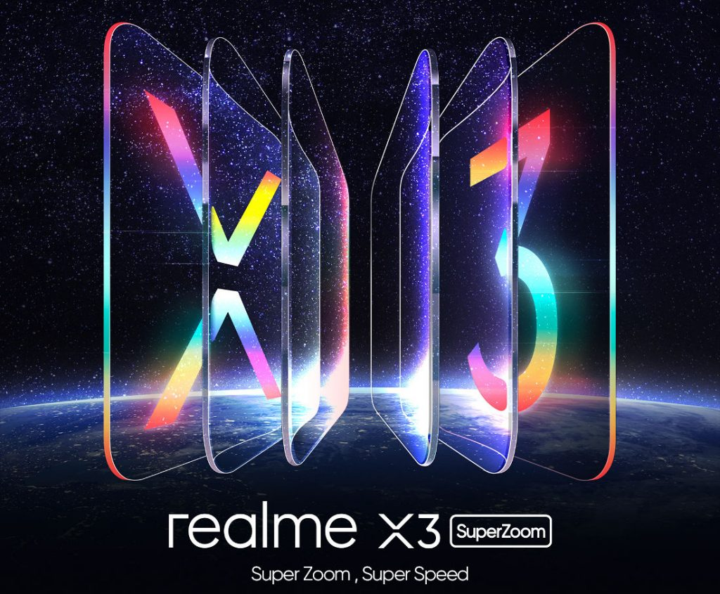 Realme X3 SuperZoom med 60x Zoom, der annonceres den 26. maj [Update: 120Hz display, Snapdragon 855+ confirmed] 2