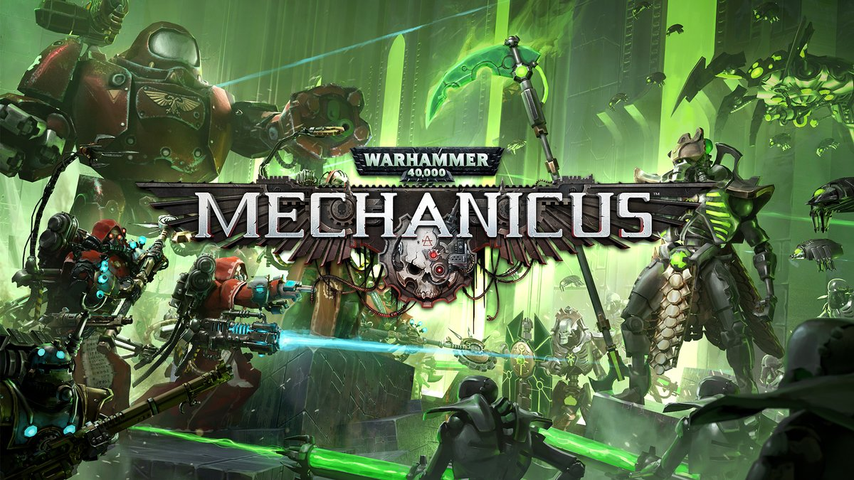 Warhammer 40,000: Mechanicus on Nintendo Switch launches 17th July