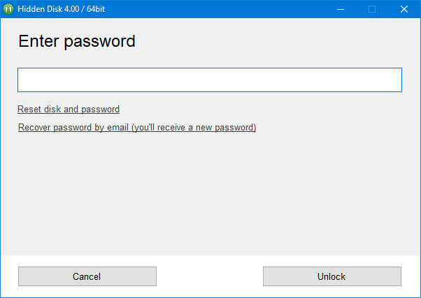 Create Password-Protected Drive