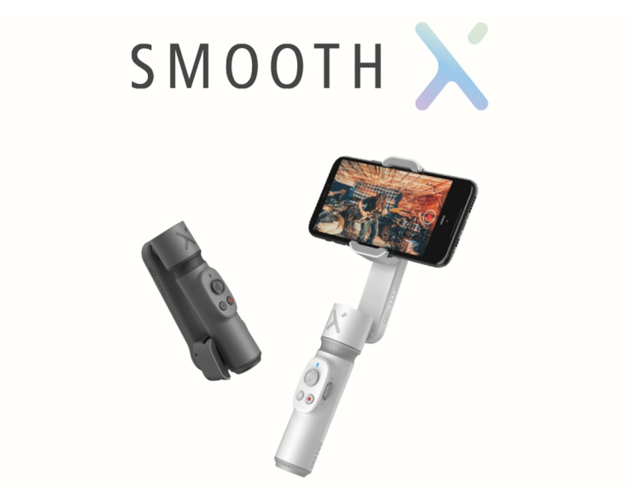 Zhiyun Smooth X now offers the mobile video stabilisation with 2-Axis