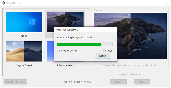 How To Get macOS Dynamic Desktop Feature on Windows 10 1