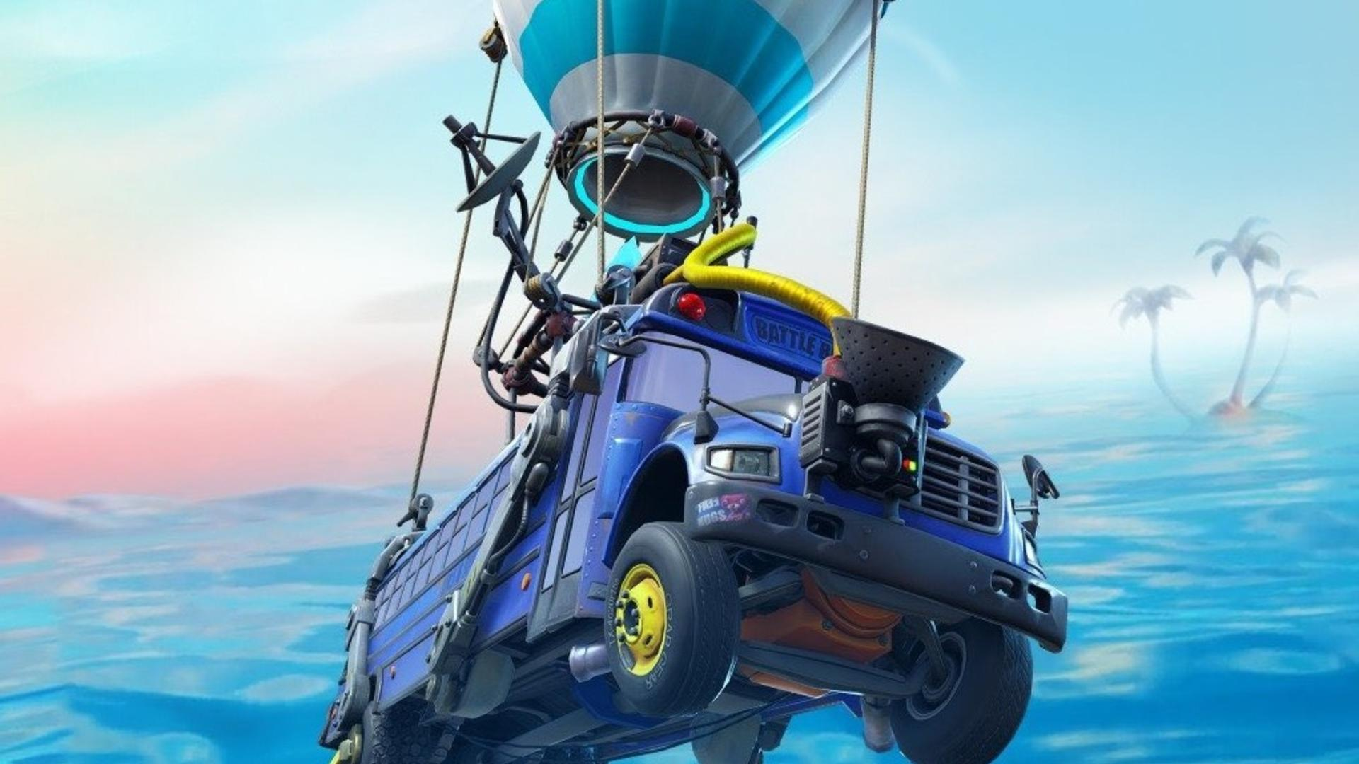 Fortnite's storm is a giant wall of water now thanks to The Agency's doomsday machine