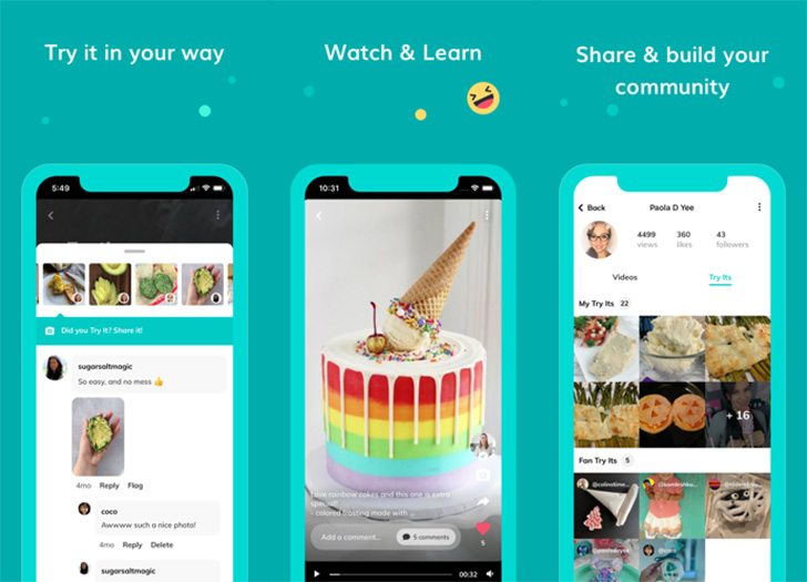 Google's Area 120 team has created a Pinterest clone called Tangi (Update: Android app)